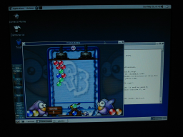 Frozen Bubble, a great game under Linux!