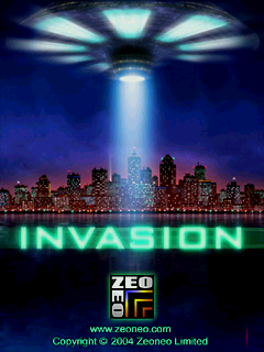 Invasion<font size=2>©</font>, Last Zeoneo game on AmigaDE